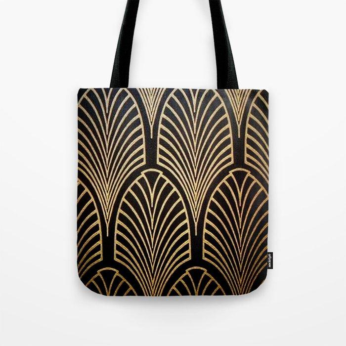 Art nouveau Black,bronze,gold,art deco,vintage,elegant,chic,belle époque Umhängetasche