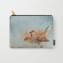 Kathmandu Cinnamon Sparrows Carry-All Pouch