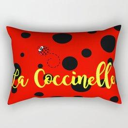 La Coccinelle Rectangular Pillow