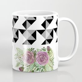 Rustic patchwork 5 Coffee Mug