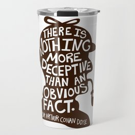 An Obvious Fact Travel Mug