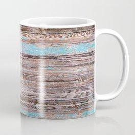 Old Blue Wood Coffee Mug