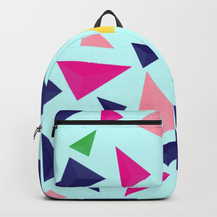 Colorful geometric pattern VIV Backpack