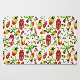 watercolor illustration Cutting Board