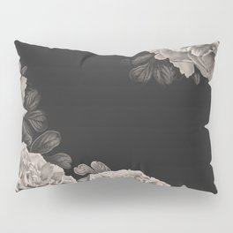 Flowers on a winter night Pillow Sham