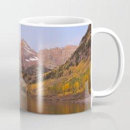 Sunrise at Maroon Bells Coffee Mug