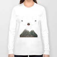 yeti Long Sleeve T-shirts featuring Yeti by Artificial primate