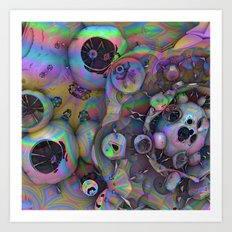 Burst My Bubbles Art Print