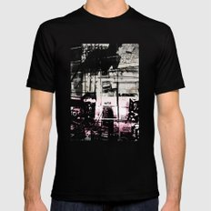 Concrete Jungle 1 Mens Fitted Tee Black MEDIUM