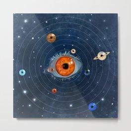 Galactic Eyes Metal Print