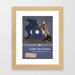 Cultes Des Goules Framed Art Print