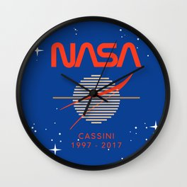 Cassini Probe 1997 - 2017 Wall Clock