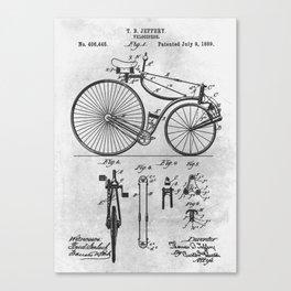 1889 Velocipede Canvas Print