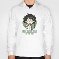 grantaire Hoodies featuring What do you mean it's 3pm? by Elnawen