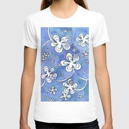 Blue follie T-shirt
