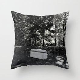 Burial Throw Pillow