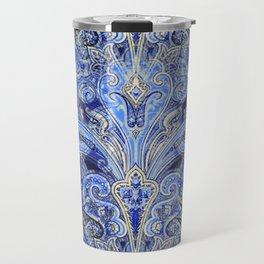 Blue Lights  #society6 #decor #buyart Travel Mug