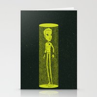 captain silva Stationery Cards featuring Captain by Derek Eads