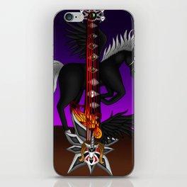 Fusion Keyblade Guitar #193 - Unicornis' Keyblade & One-Winged Angel iPhone Skin
