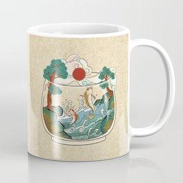 Minhwa: Jumping Carps Terrarium A Type Coffee Mug