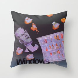 †Ɍïɭɭ 95 Throw Pillow
