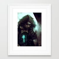 cage Framed Art Prints featuring Cage by samkat