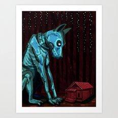 Hellhound. Art Print