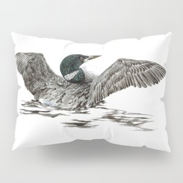Morning Stretch - Common Loon Pillow Sham