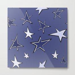 Christmas star 2 Metal Print