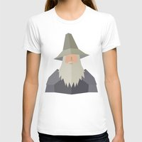 gandalf T-shirts featuring Gandalf by Cristiano Ávila Salomão