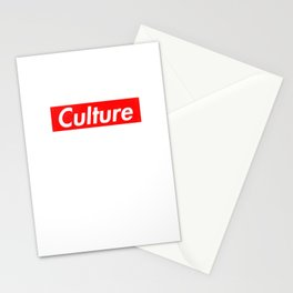 Culture Stationery Cards