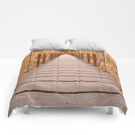 Golden Grove Suspension Bridge Comforters