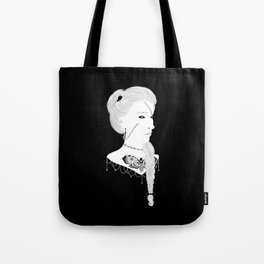 Love Me Deathly Cameo Tote Bag