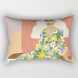 Night in Desert Rectangular Pillow