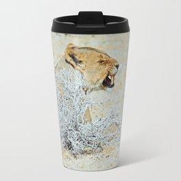 NAMIBIA ... The Lioness I Travel Mug