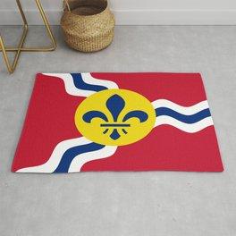 Flag of Saint Louis Rug