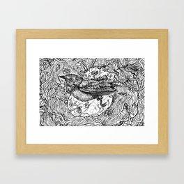 Nest for Heart Framed Art Print