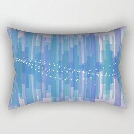 Blasting Waves Rectangular Pillow