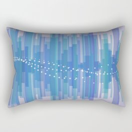 Blasting Waves Rectangular Pillow