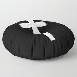 Dagger (White & Black) Floor Pillow