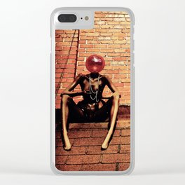 Rooftop Wonder Clear iPhone Case