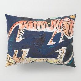 Tiger, Cheetah, Toucan Painting Pillow Sham