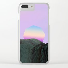 Where I Want to Be Clear iPhone Case