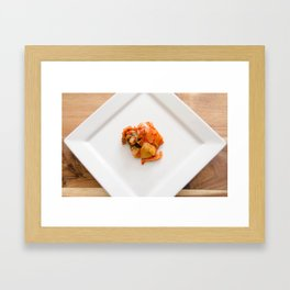 Kimchi Framed Art Print