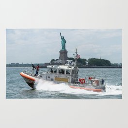 Coast Guard and Liberty Rug