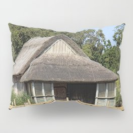 Horsey mere thatched cottage Pillow Sham