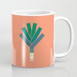 Vegetable: Leek Coffee Mug
