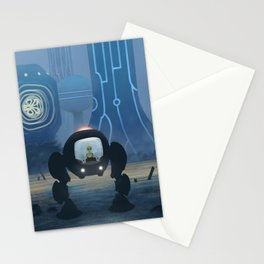 Voraxian Mech-cruiser Stationery Cards