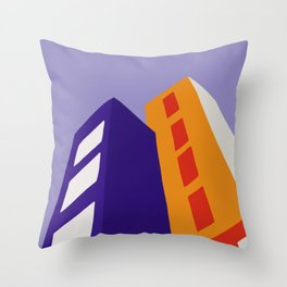 Skyscrapers II Throw Pillow