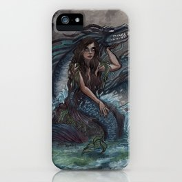 Mermaid and Sea Dragon iPhone Case